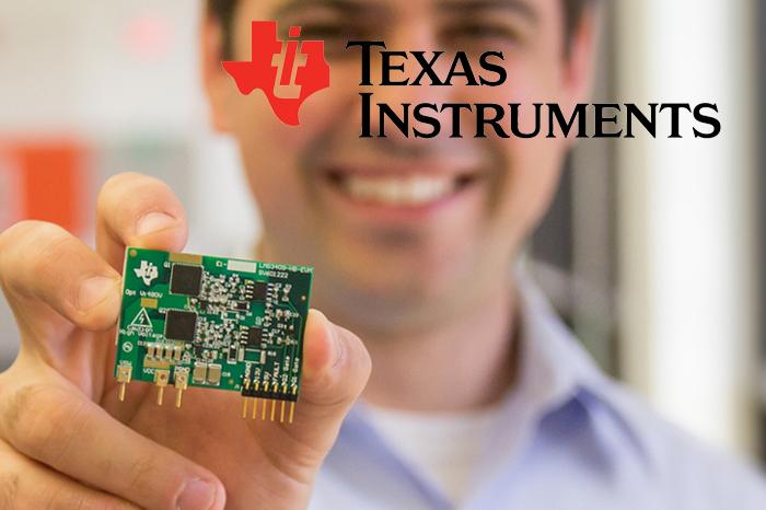 Продукция микросхем компании Texas Instruments.