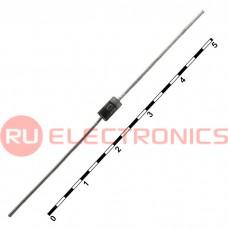 Высокоэффективный диод MIC HER108, DO-41, 1 A, 1000 В