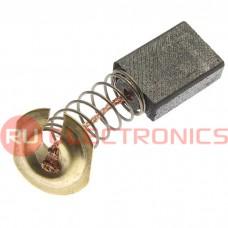 Щетка для электродвигателя RUICHI brush 5x11x16 spring, графитовая