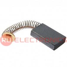 Щетка для электродвигателя RUICHI brush 5x12.5x20 spring, графитовая