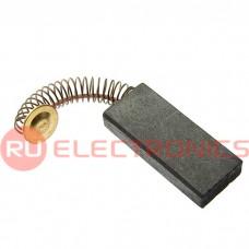 Щетка для электродвигателя RUICHI brush 5x12x29 spring, графитовая