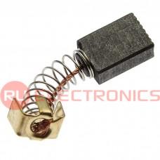 Щетка для электродвигателя RUICHI brush 5x8x12 spring, графитовая