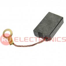 Щетка для электродвигателя RUICHI brush 6.3x12.5x20, графитовая
