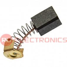 Графитовая щетка для электродвигателя RUICHI 6x9x12 мм, с пружиной