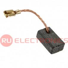 Щетка для электродвигателя RUICHI brush 5.5x8.5x13.5 wire, графитовая