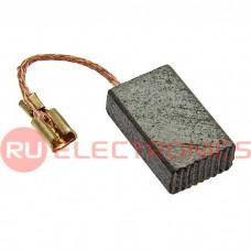 Щетка для электродвигателя RUICHI brush 5x10x16 wire, графитовая