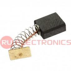 Щетка для электродвигателя RUICHI brush 5x11x13 spring, графитовая