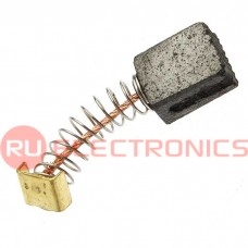 Щетка для электродвигателя RUICHI brush 5x8x11 spring, графитовая