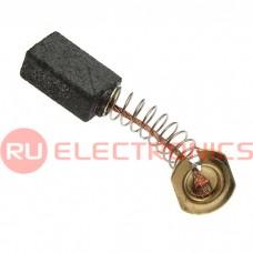 Щетка для электродвигателя RUICHI brush 5x8x13 spring, графитовая