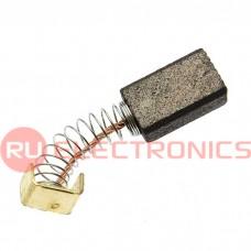 Щетка для электродвигателя RUICHI brush 5x8x13 spring new, графитовая