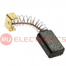 Щетка для электродвигателя RUICHI brush 5x8x14 spring, графитовая