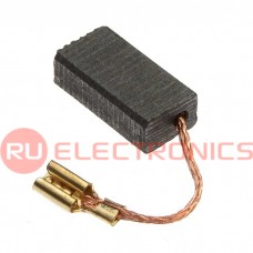 Щетка для электродвигателя RUICHI brush 5x8x16 clamp, графитовая