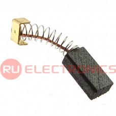 Графитовая щетка для электродвигателя RUICHI 5x8x17 мм, с пружиной