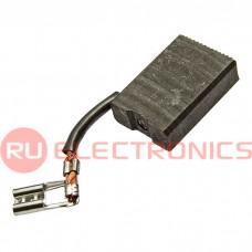 Щетка для электродвигателя RUICHI brush 6.3x16x23 tube, графитовая