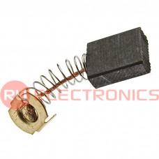 Графитовая щетка для электродвигателя RUICHI 6.4x13.5x16 мм, с пружиной