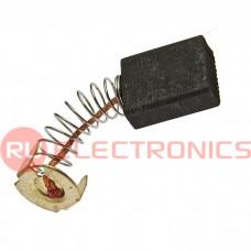 Графитовая щетка для электродвигателя RUICHI 6.5x13.5x17 мм, с пружиной
