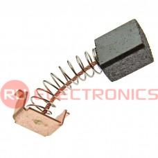 Графитовая щетка для электродвигателя RUICHI 6x10x11 мм, с пружиной