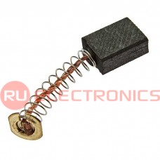 Графитовая щетка для электродвигателя RUICHI 6x11x15 мм, с пружиной