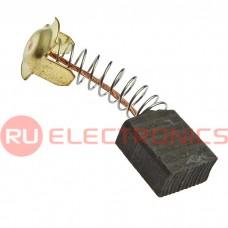 Графитовая щетка для электродвигателя RUICHI 7x13x16 мм, с обновленной пружиной