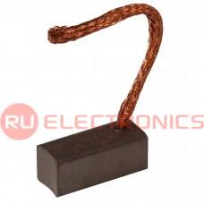 Щетка для электродвигателя RUICHI brush-12 Cu-C, графитовая
