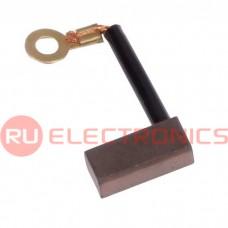 Щетка для электродвигателя RUICHI brush-15 Cu-C, графитовая
