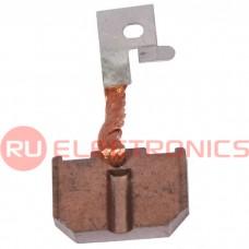 Щетка для электродвигателя RUICHI brush-2 Cu-C, графитовая