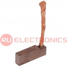 Щетка для электродвигателя RUICHI brush-5 Cu-C, графитовая