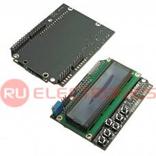 Электронный модуль LCD-1602, синий дисплей