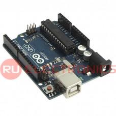 Электронный модуль Arduino UNO R3 ATmega.., 14 цифровых входов/выходов и 6 аналоговых входов