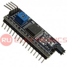 Электронный модуль IIC/I2C / interface LCD-1602, регулятор уровня подсветки дисплея