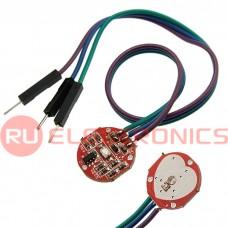 Датчик сердечного ритма RUICHI XD-58C, сенсорный, с датчиком пульса