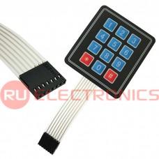 Электронный модуль 3*4 matrix keypad, 7 -канальный интерфейс