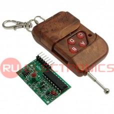 Электронный модуль IC2272/2262 4 channel RC, комплект дистанционного управления 4-х канальный