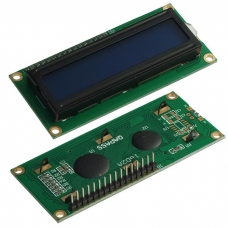 Электронный модуль RUICHI LCD-1602 Module, микросхема HD44780