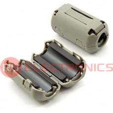 Фильтр ферритовый на провод RUICHI ZCAT2035-0930A (серый), в корпусе