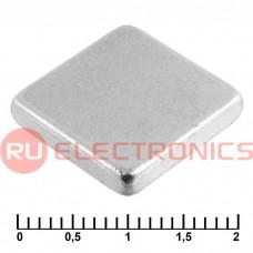 Магнит RUICHI B 15x15x3 мм, класс N35, квадратный