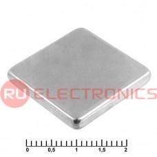 Магнит RUICHI B 20x20x3 мм, класс N35, квадратный
