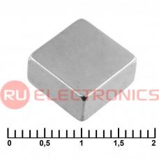 Магнит RUICHI B 10x10x5 мм, класс N35, квадратный