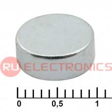 Магнит RUICHI C 10x4 мм, класс N35, круглый