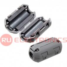 Фильтр ферритовый на провод RUICHI ZCAT1730-0730A (серый), в корпусе