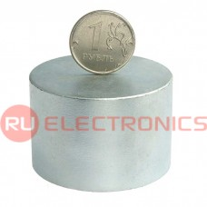 Магнит RUICHI D 45x30 мм, класс N35, круглый