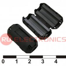 Фильтр ферритовый на провод RUICHI ZCAT1325-0530A-BK (черный), в корпусе