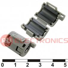 Фильтр ферритовый на провод RUICHI ZCAT1518-0730 (серый), в корпусе