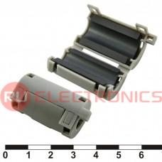 Фильтр ферритовый на провод RUICHI ZCAT2032-0930 (серый), в корпусе