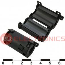Фильтр ферритовый на провод RUICHI ZCAT2032-0930-BK (черный), в корпусе