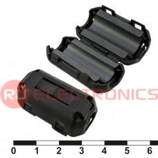 Фильтр ферритовый на провод RUICHI ZCAT2035-0930A-BK (черный), в корпусе
