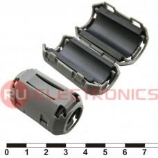 Фильтр ферритовый на провод RUICHI ZCAT2436-1330A (серый), в корпусе