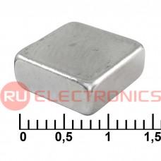 Магнит RUICHI B 10x10x4 мм, класс N35, квадратный