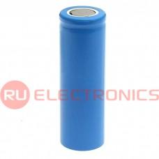 Аккумуляторная батарейка Li-ion RUICHI 18650, 3.7В, 1400 мАч, 18x65 мм