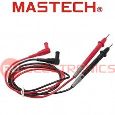 Щупы измерительные для цифровых тестеров и токовых клещей MASTECH T3033U, 10 А, 250 В, 0,8 м